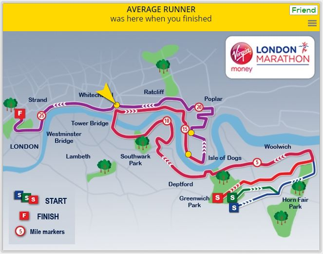 London Marathon 2016 - finish infographic 4