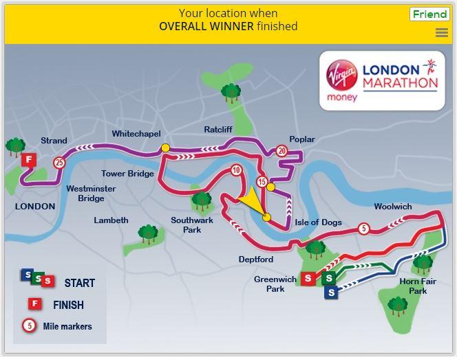 London Marathon 2016 - finish infographic 5