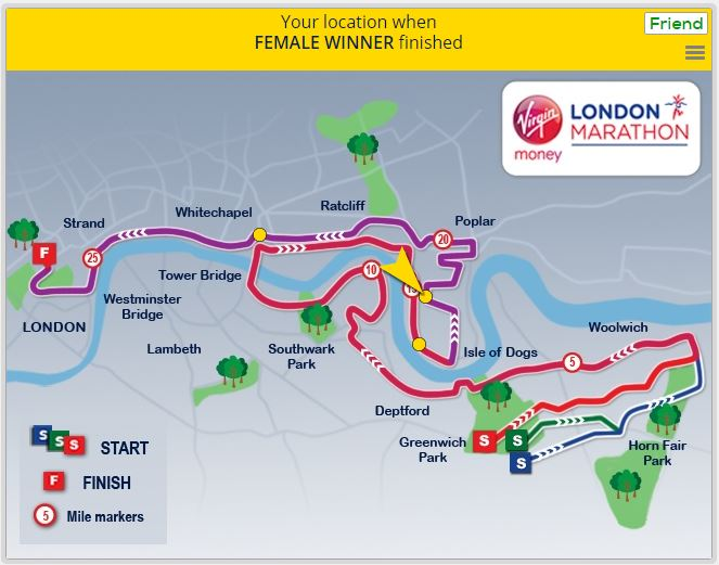 London Marathon 2016 - finish infographic 6